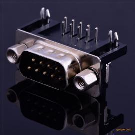 db9pin插头 DB9PIN插头 公头 现货热卖优质镀金