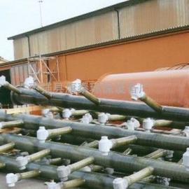 辽宁钢厂脱硫塔玻璃钢喷淋层(喷淋管道)