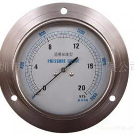 PIONEER过压保护负压表,台湾0-20KPA燃气压力表