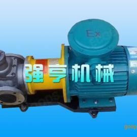 强亨机械无泄漏不锈钢圆弧齿轮泵