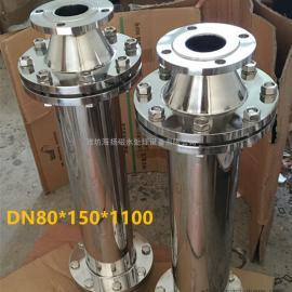汽锅补水除垢器 HYC-C白口铁304材质DN25-100强磁除垢器