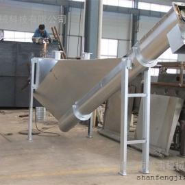 不易损坏、耐用的螺旋式砂水分离器/诸城善丰砂水分离器