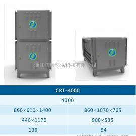 正境环保CRT-UV静电光解餐饮油烟净化器-上海1.0标准高效型