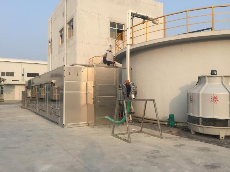 污泥除湿机 污泥干化流水线 电镀污泥烘干机