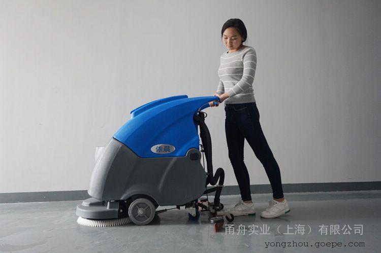 油漆地面用洗地机|依晨手推式洗地机YZ-50