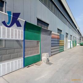 凯耀金属百叶声屏障长期生产热销高速公路铁路隔音板墙