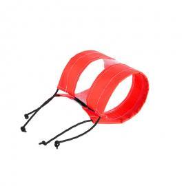 红色PVC法兰保护套