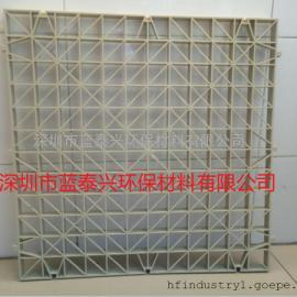 深圳厂家直销库存450洗涤塔喷淋塔格栅PP聚丙烯格栅板 网格脚踏板