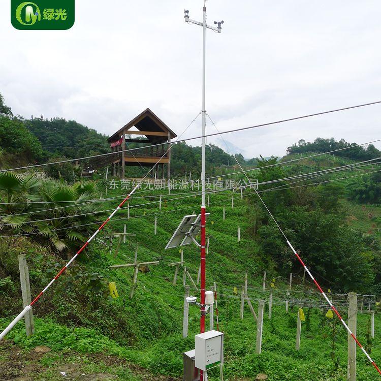 工厂直销绿光TWS-7型便携式森林防火气象监测站自动气象站