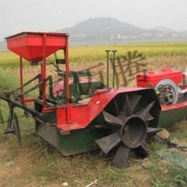 湘莲、莲藕田地的农机迈腾MT22型厂家耕草船