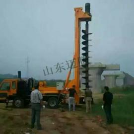 建筑打桩机 地基打桩机 水泥柱钻机 厂家自己销售 可订制