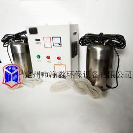 供应和田市WTS-2B(一控二)内置式水箱自洁消毒器臭氧发生器