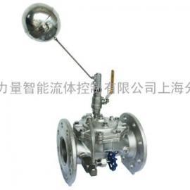 上海100X-16P不锈钢遥控浮球阀、100X遥控浮球阀