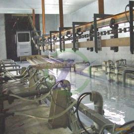 北京电泳涂装设备 电泳槽喷淋槽电泳前处理成套出产线厂家