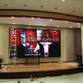 宴会大厅P4高清LED大电视屏幕价格厂家包安装