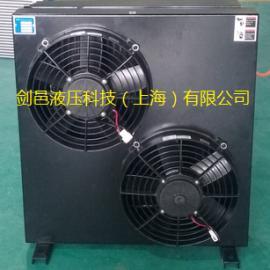 液压强夯机12V/24V电压液压油散热器液压油风冷却器