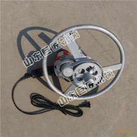 华夏巨匠家用小型电动打井机 30米手持式电动钻井设备
