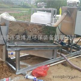 本行污水出产厂家 荣博源环保 RBL 叠螺式污泥脱水机价格