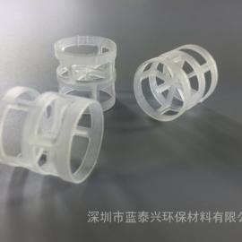 38mm聚丙烯鲍尔环石油化工填料分离脱吸塑料环