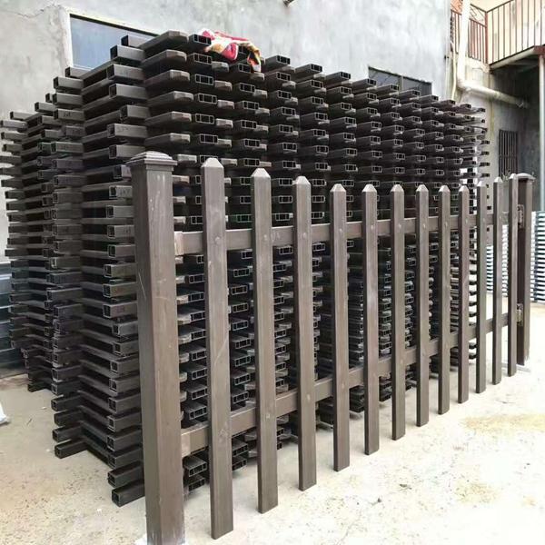 【淮北护栏公司】濉溪PVC塑钢护栏 杜集区草坪围栏栅栏