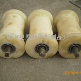 高分子尼龙托辊 尼龙托辊材料 包铁轴尼龙管棒 尼龙滚筒