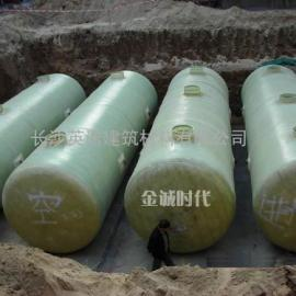北京全体圆筒五金钢化粪池设备