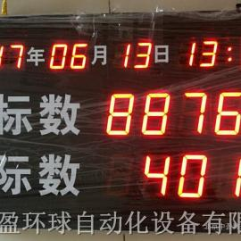 HQ-210工厂生产线装车红外线大屏幕计数器