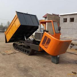 生产小型履带运输车 全地形履带式运输车 农用履带自卸翻斗车