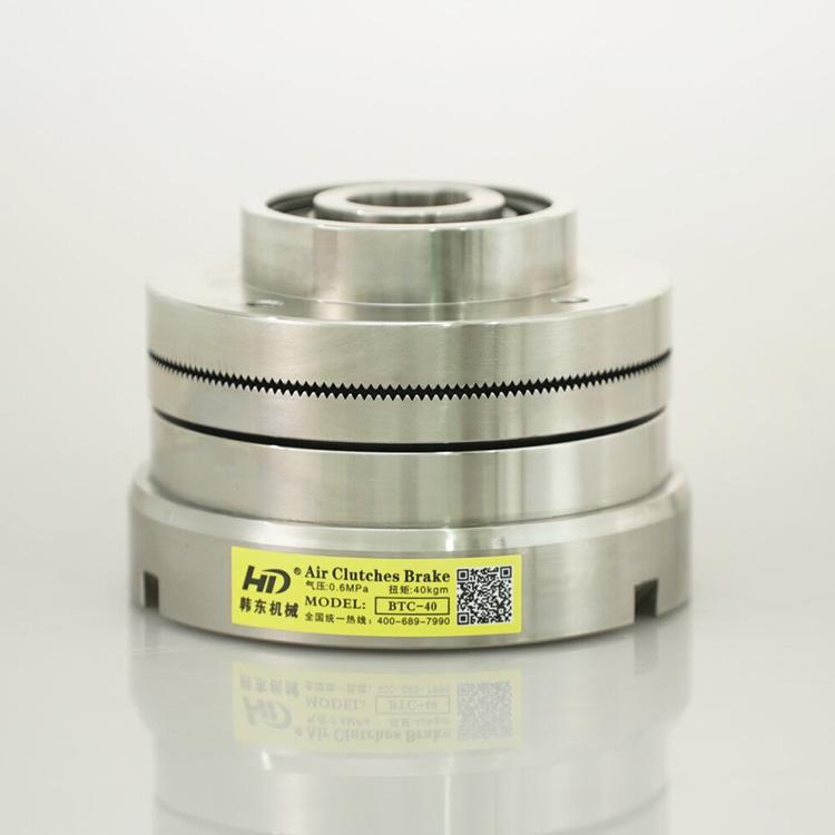 韩东BTC气动离合器原理 齿形气动离合器BTC20