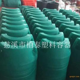 500*800螺栓固定挂网塑料拦污浮筒介绍