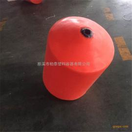徐州�L塑定制塑料浮筒/�A柱�w串�式管��r污浮筒