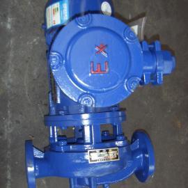 上海申欧通用泵阀厂 40SGB6-20防爆管道泵