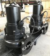 旋流泵�S家 �o堵塞排污泵 100WQ100-5-3 南京�P普德