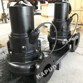 旋流泵厂家 无堵塞排污泵 100WQ100-5-3 南京凯普德