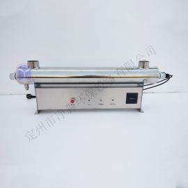 供应供水厂用JM-UVC-150紫外线消毒器水处理设备