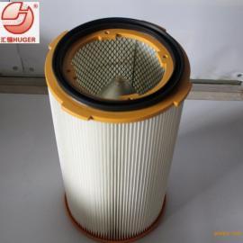 订制高精度工业除尘滤芯覆膜反吹滤芯适用与所有工业除尘设备