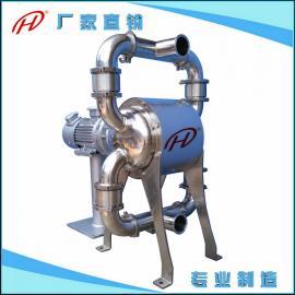 卫生级电动隔膜泵 上海食品级隔膜泵 不锈钢卫生级电动双隔膜泵