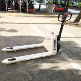广州地区半电动液压搬运车 半电动货物装卸车