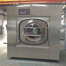 宾馆专用洗涤设备 酒店布草50公斤全自动洗衣机价格
