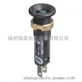 带黑色企口头的LED指示灯XVLA143内置二极管