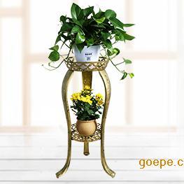 中式铁艺花架