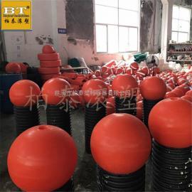 吉林在哪里可以买到聚氨酯填充实心水上警示隔离浮球