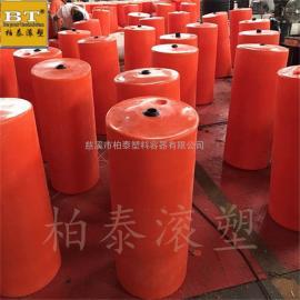 自贡市水上垃圾拦截管线浮筒/浮子式塑料拦污排