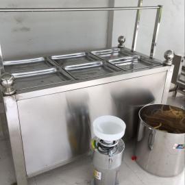 酒店做油皮的设备现做现卖小型豆皮机腐竹机自动控温的设备