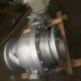 上海明精供应Q947F固定式电动球阀 电动固定球阀 法兰固定式球阀
