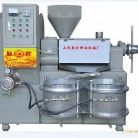 供应辽宁全自动120螺旋挤油机生产厂家,聚财电加热榨油机销售价