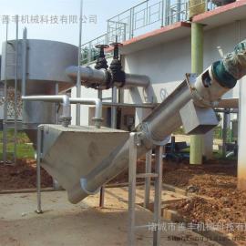分离效率高经久耐用的无轴螺旋砂水分离器、砂水分离器特点