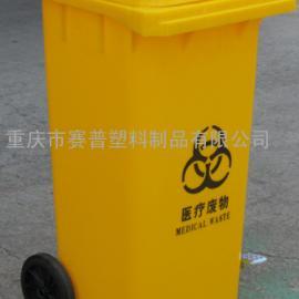 重庆医用垃圾桶,黄色医疗垃圾桶