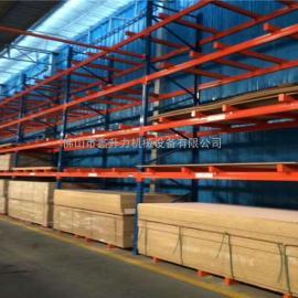 接收大型仓储设备搭建货架与阁楼
