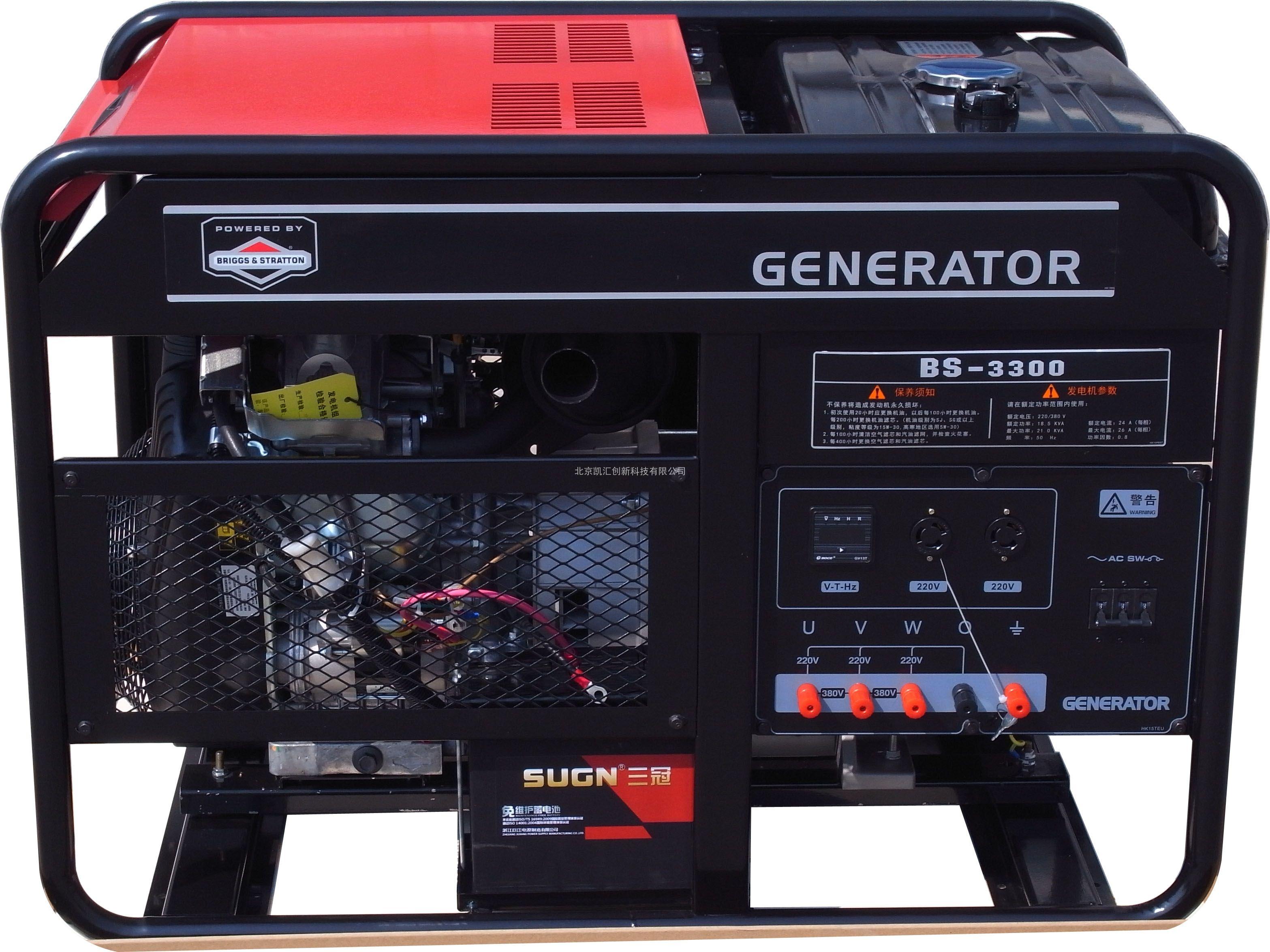 21KW 百力通汽油发电机 BS-3300美国原装进口